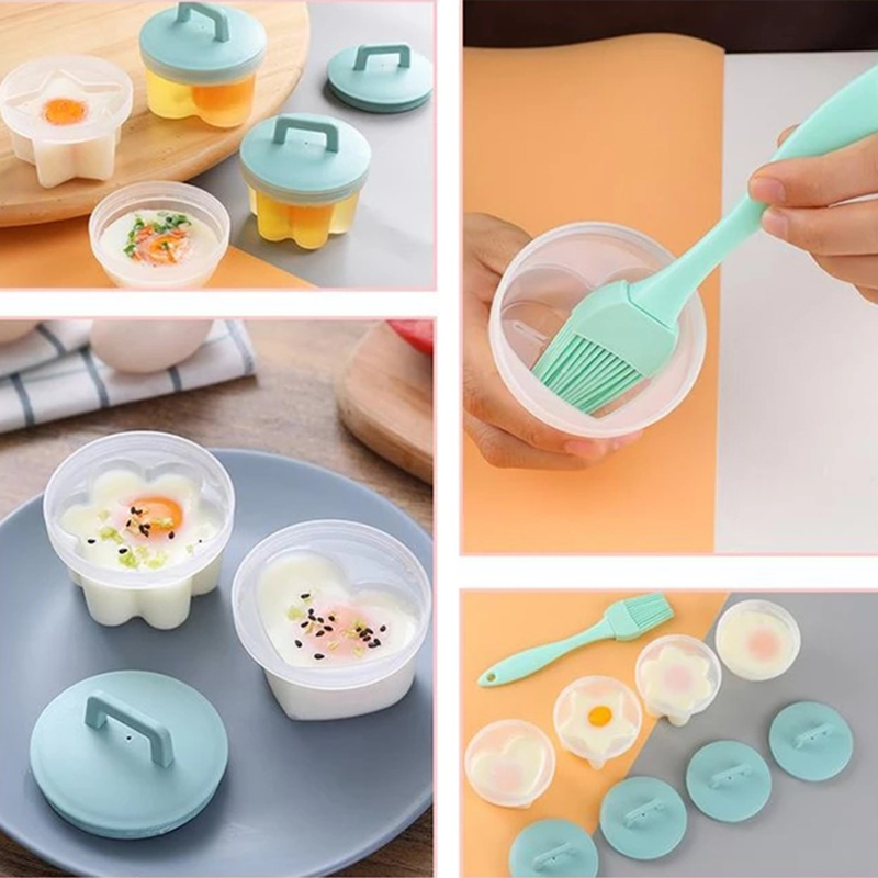 4 Pcs/Set Egg Boiler Kitchen Egg Cooker Tools
