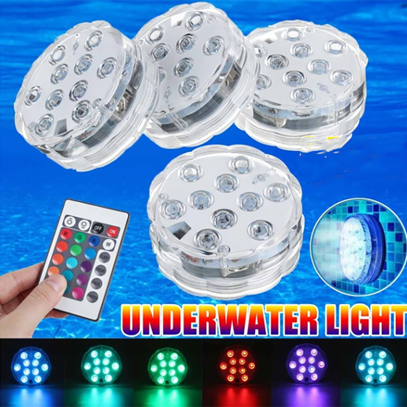 Waterproof Multi Color Submersible LED Lights