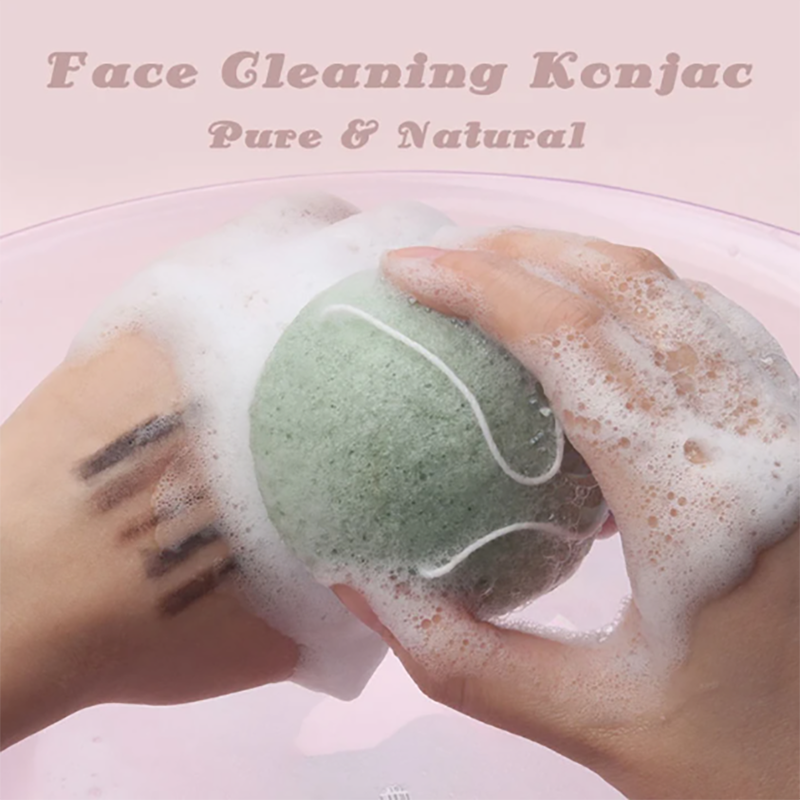 Pure Natural Face Cleaning Konjac