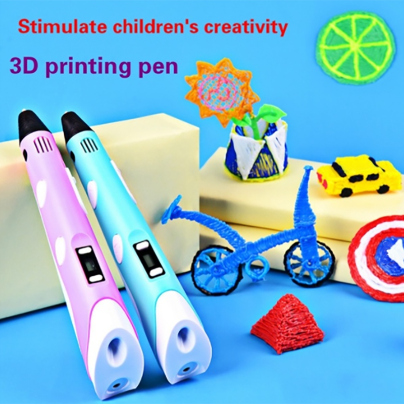 DIY 3D Printing Pen For Kid Child Educational Toys