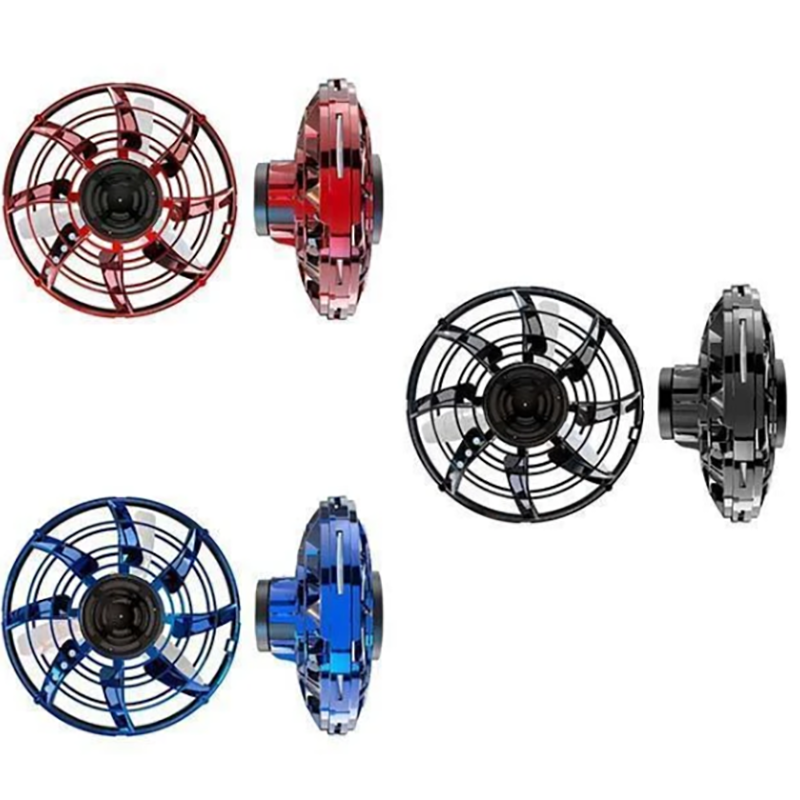 Flying Spinner Toys Gyrotron With Led Lights
