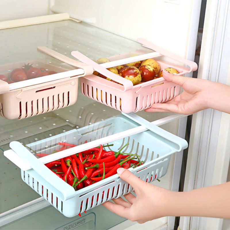 Adjustable Refrigerator Storage Shelf