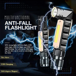 360-degree Magnet Anti-fall Flashlight