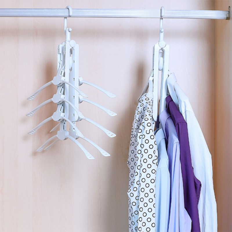Multi Layer Folding Clothes Hanger