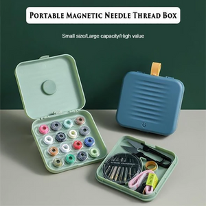 Travel Small Magnetic Sewing Box