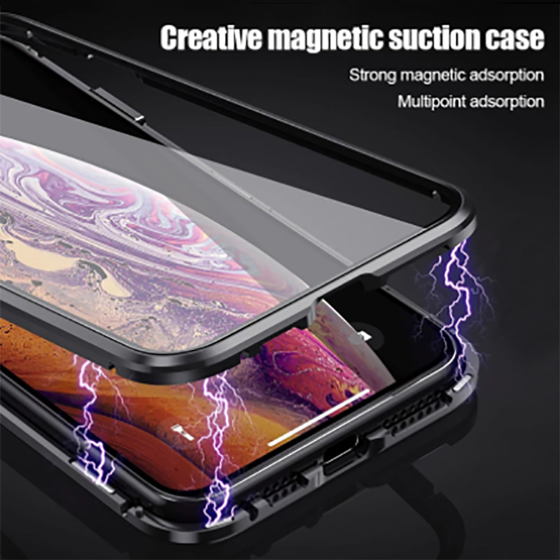 Metal Magnetic Adsorption Case For iPhone