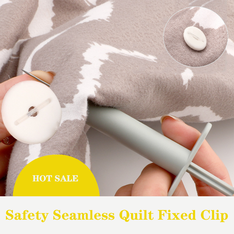 Safety Seamless Quilt Cover Fixed Clip