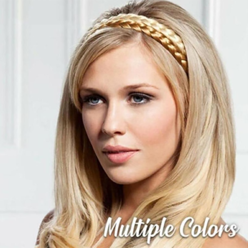 Headband Braids Hair With Adjustable Belt
