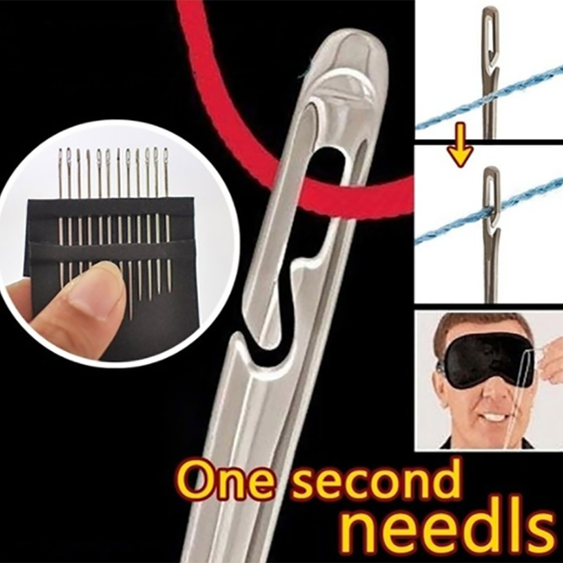Self-threading Needles Multi-size Needles
