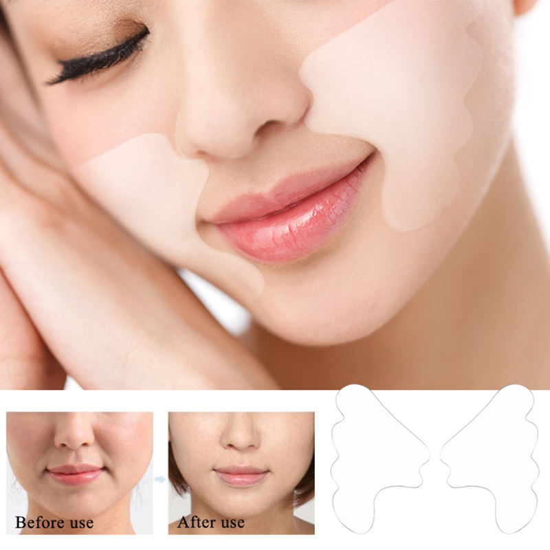 Facial Lip Wrinkle Remover Pad