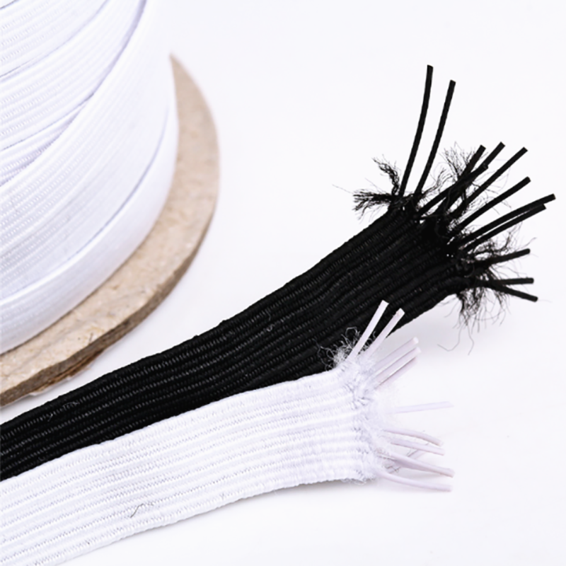 3mm Elastic Flat Rubber Band Sewing Rope