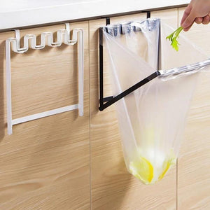 kitchen Plastic Bag Hanger Rack