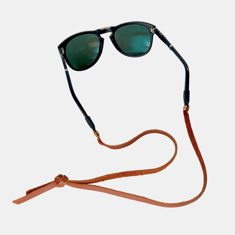 Heritage Sounders Leather Sunglass Strap