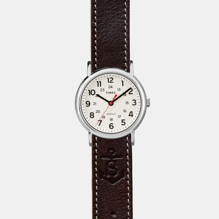 Sounder x Timex Field Watch - Dark Brown