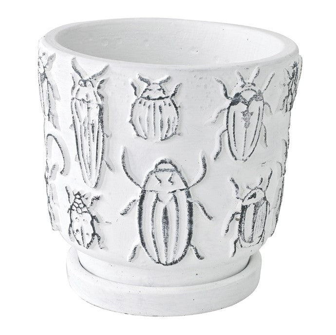 Insect Ceramic Planter