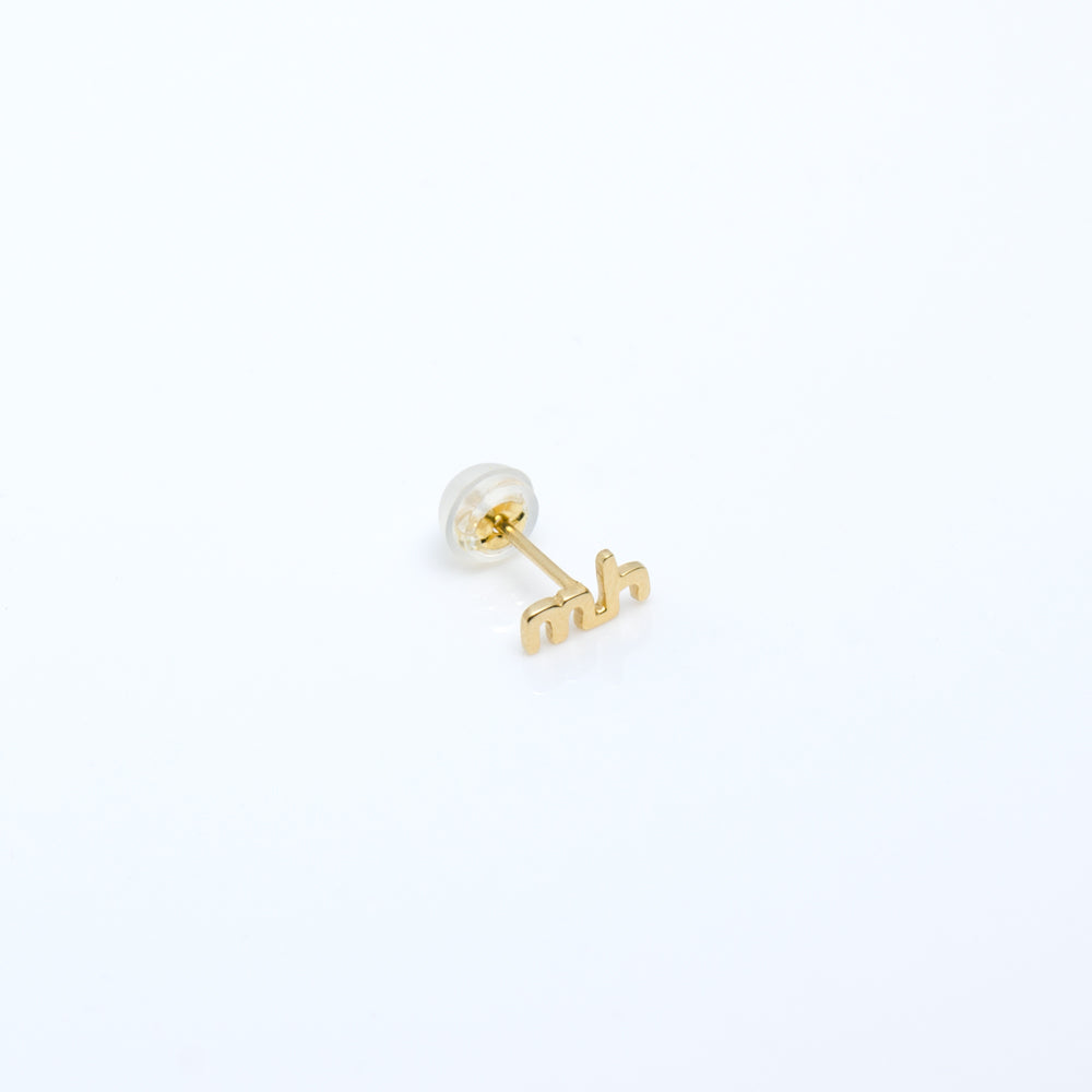 SINGLE EARRING / WORD COLLECTION
