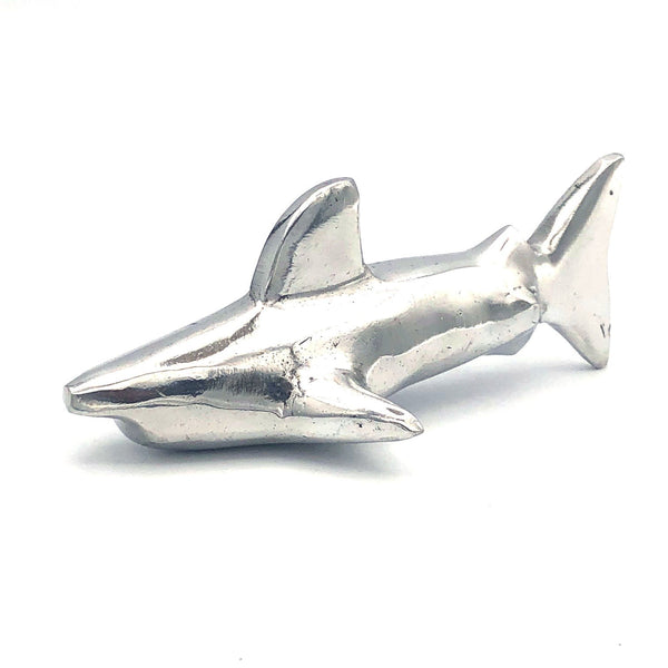 Recycled Aluminum Great White Shark
