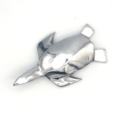 Recycled Aluminum Pacific Sea Turtle