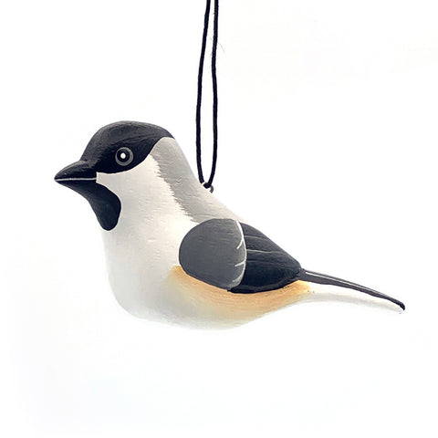 Black-capped Chickadee Balsa Ornament