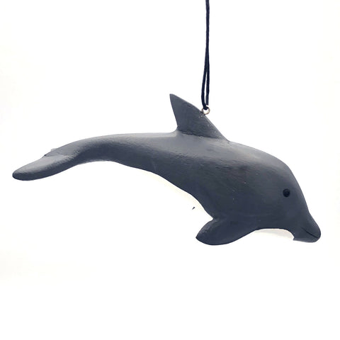Bottlenose Dolphin Balsa Ornament