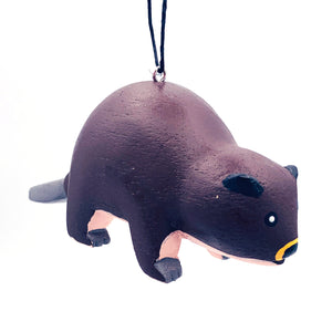 Beaver Balsa Ornament