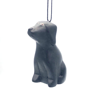 Black Lab Balsa Ornament