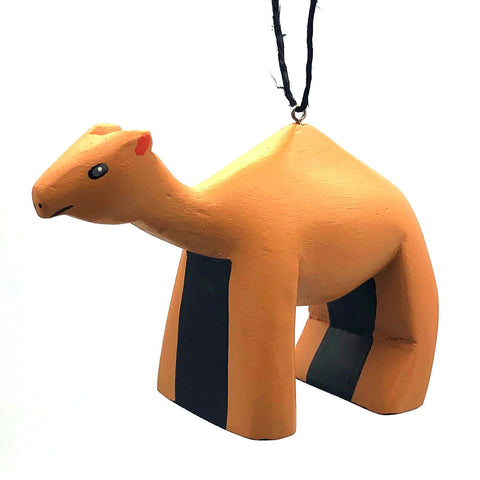 Camel Balsa Ornament