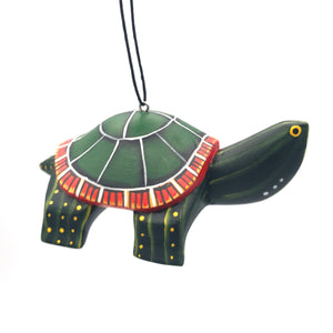 Eastern Painted Turtle Balsa Ornament
