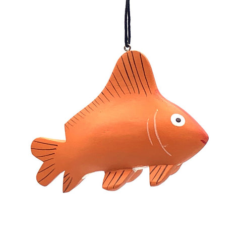 Goldfish Balsa Ornament