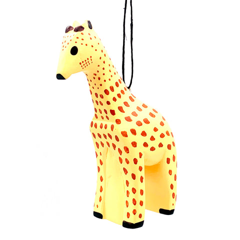 Giraffe Balsa Ornament