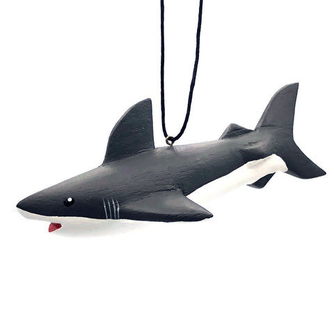 Great White Shark Balsa Ornament