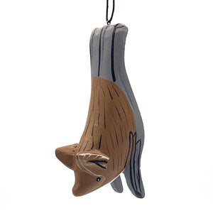 Insect Bat Balsa Ornament