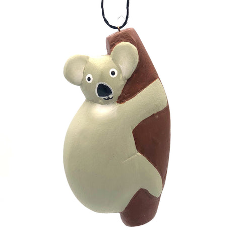 Koala Balsa Ornament