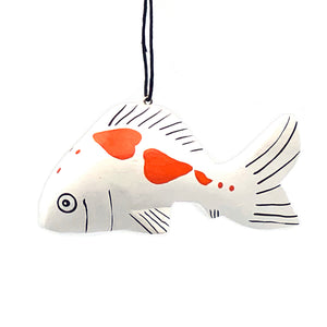 Koi Fish Balsa Ornament