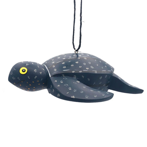 Leatherback Turtle Balsa Ornament