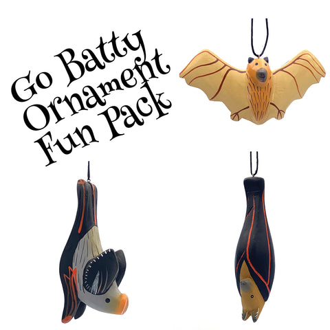 Go Batty Ornament Fun Pack