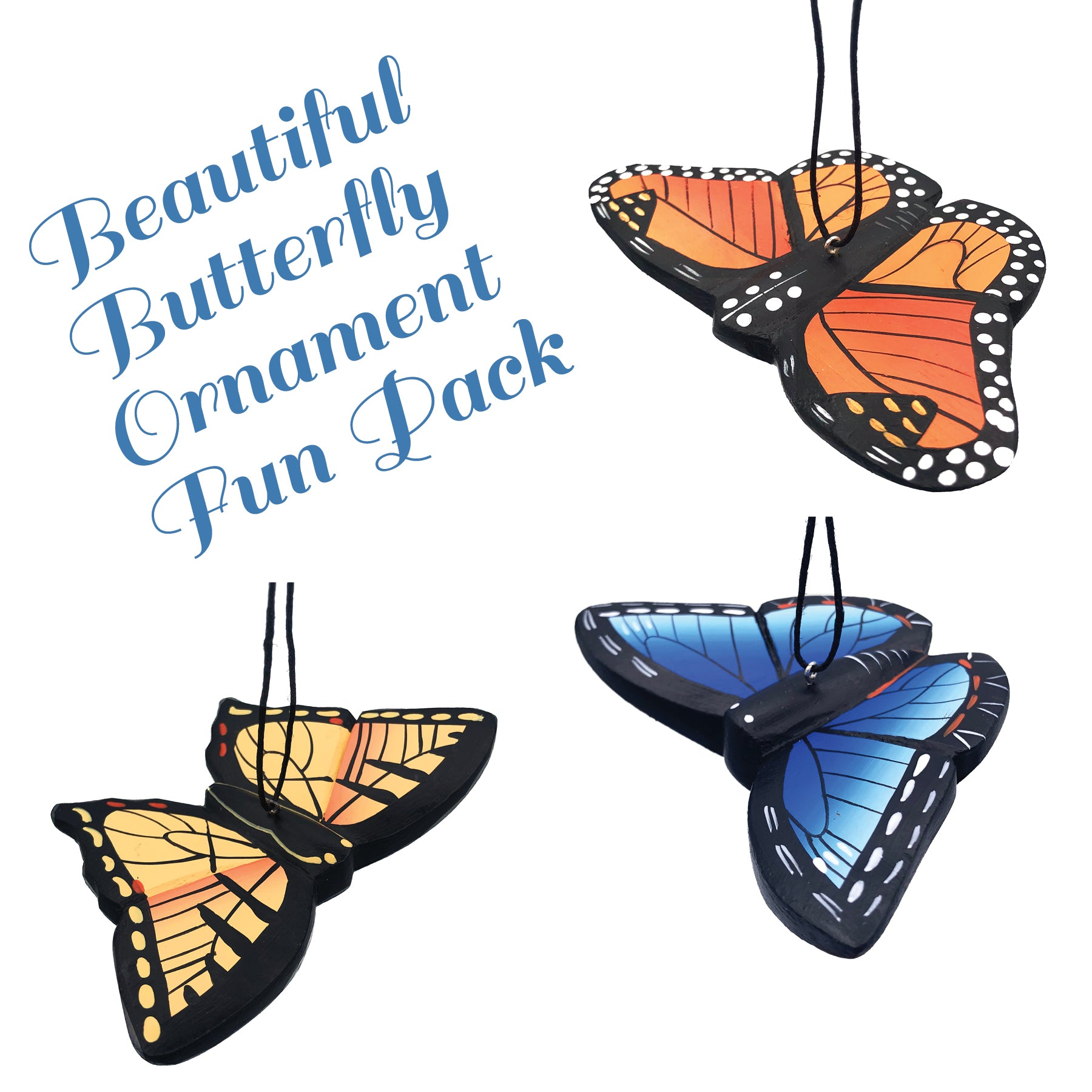Beautiful Butterfly Ornament Fun Pack