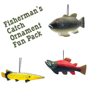 Fisherman's Catch Ornament Fun Pack