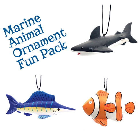Marine Animal Ornament Fun Pack