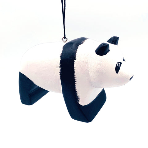Giant Panda Balsa Ornament