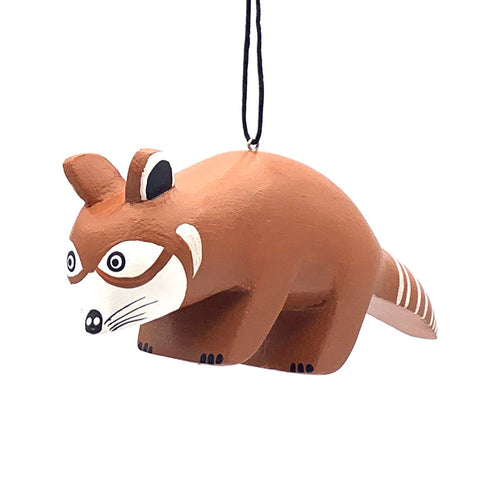 Red Panda Balsa Ornament