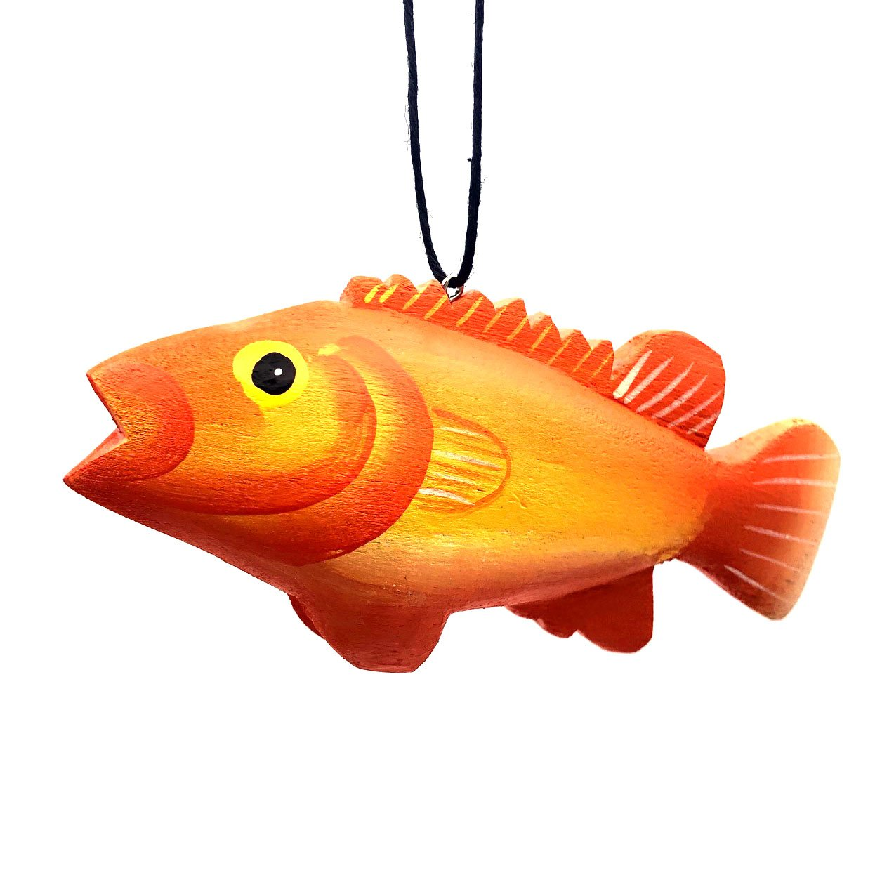 Rougheye Rockfish Balsa Ornament