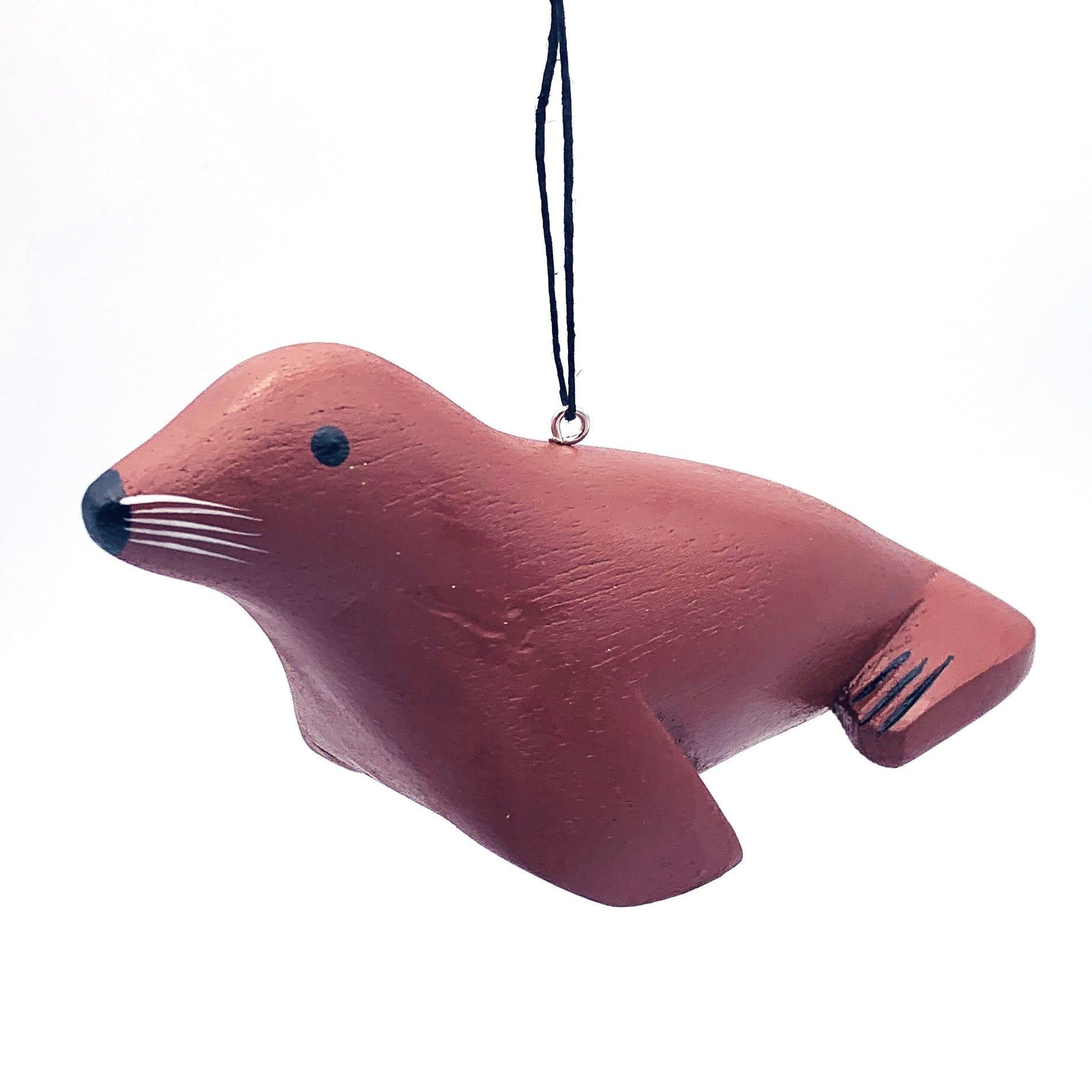 California Sea Lion Balsa Ornament