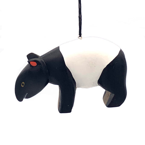 Tapir Balsa Ornament