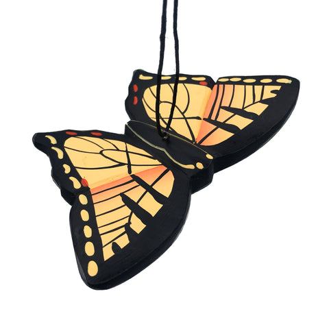 Tiger Swallowtail Butterfly Balsa Ornament