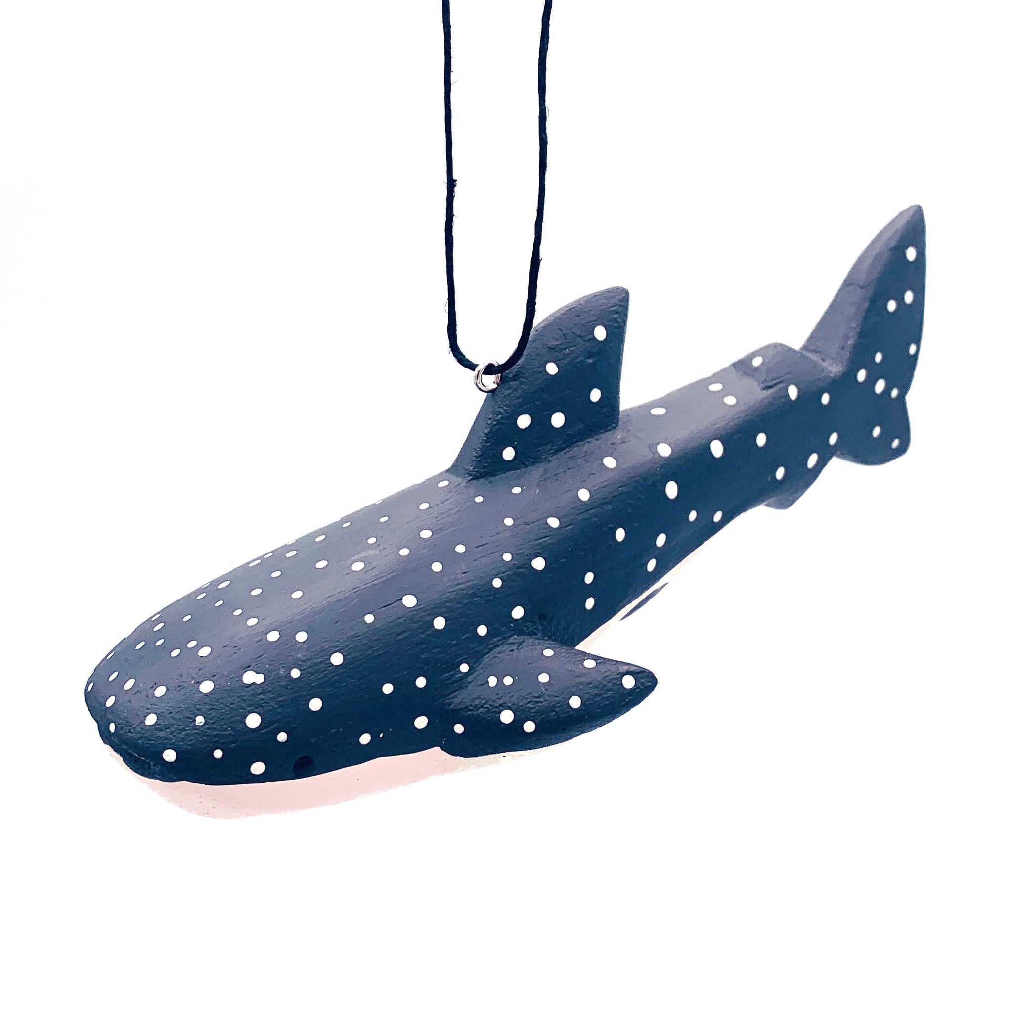Whale Shark Balsa Ornament