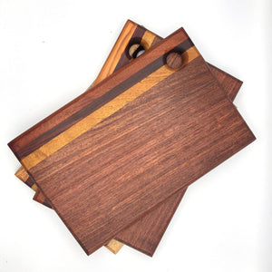 Tropical Hardwood Rectangular Cutting Board