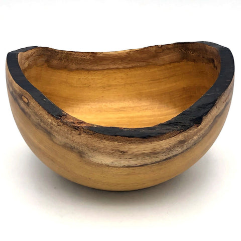 Tropical Hardwood Rustic Bowl