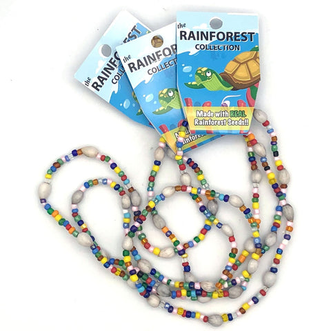 Kids Stretchy Rainforest Necklace