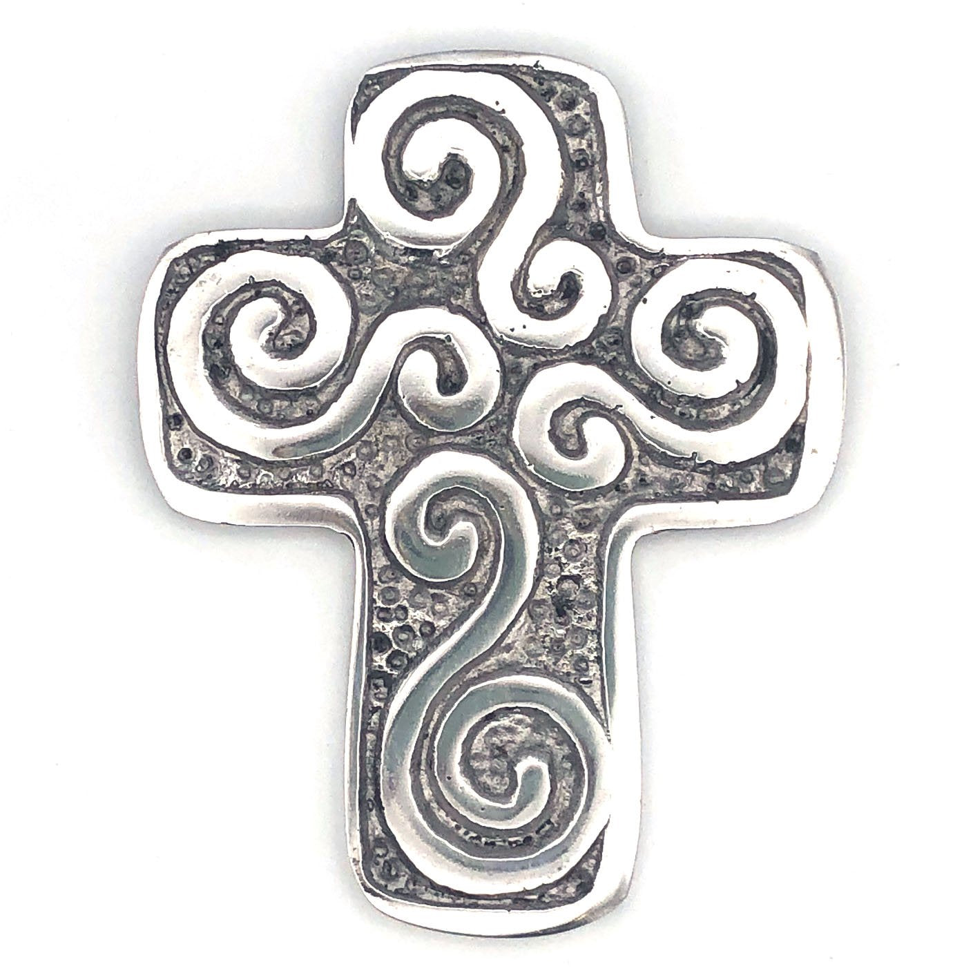 Recycled Aluminum Celtic Cross
